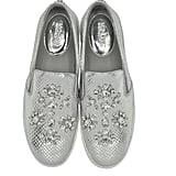 Michael Kors Keaton Silver Metallic Sneakers