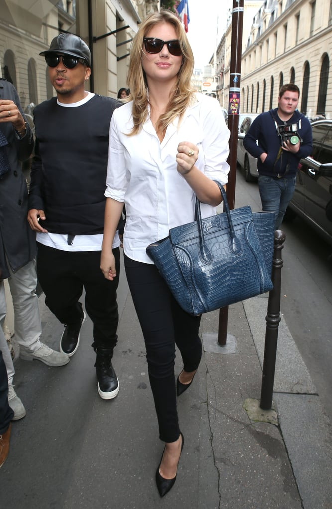 Kate Upton Shopping in Paris | Pictures