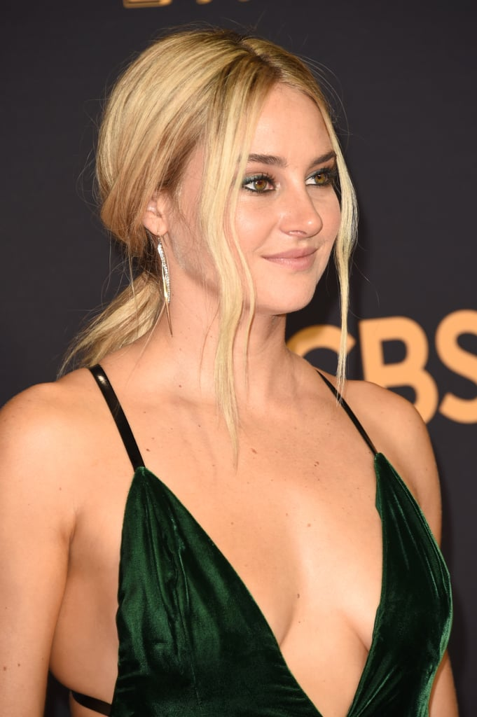 Shailene Woodley Hair At The 2017 Emmys Popsugar Beauty
