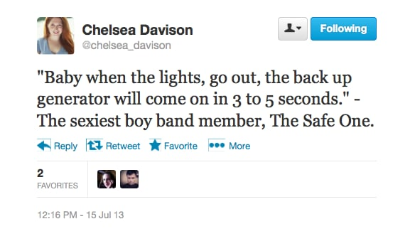 On Boy Bands