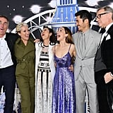 The Cast of Last Christmas at the Premiere