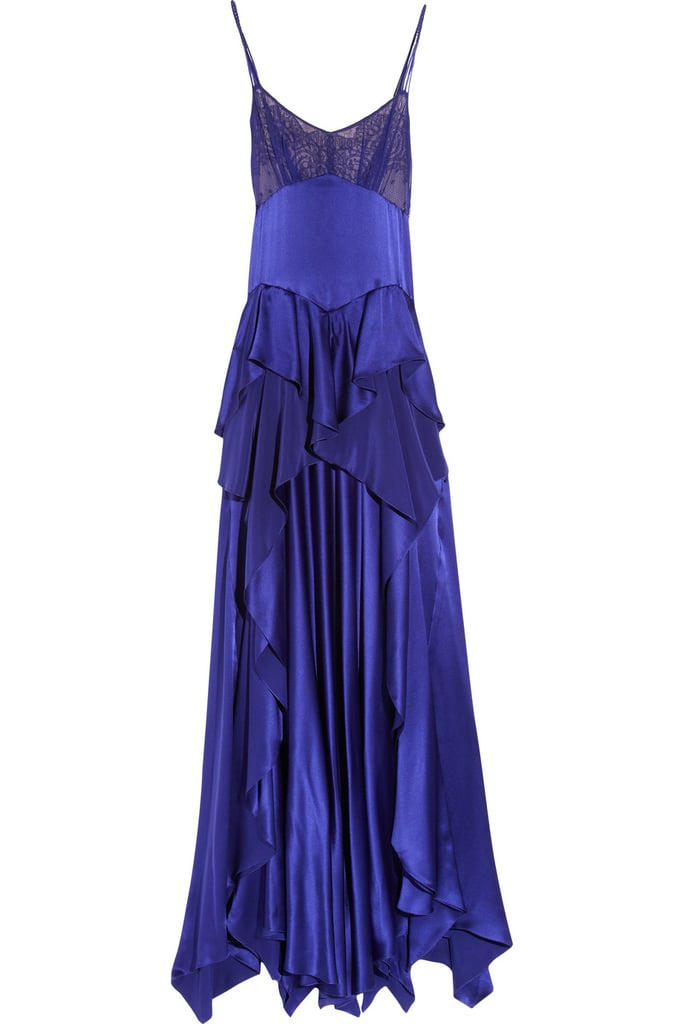 OK, this Jason Wu Rebecca silk-charmeuse and chiffon gown ($599, originally $3,995) is still pretty pricey but think how you'll feel princess every time you wear it.