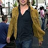 Brad Pitt, 2003