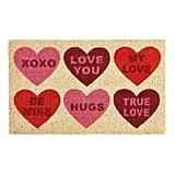 Candy Hearts Doormat
