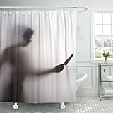 Killer With Knife Shower Curtain