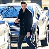 Justin Timberlake had fun on his NJ set of Runner, Runner.
