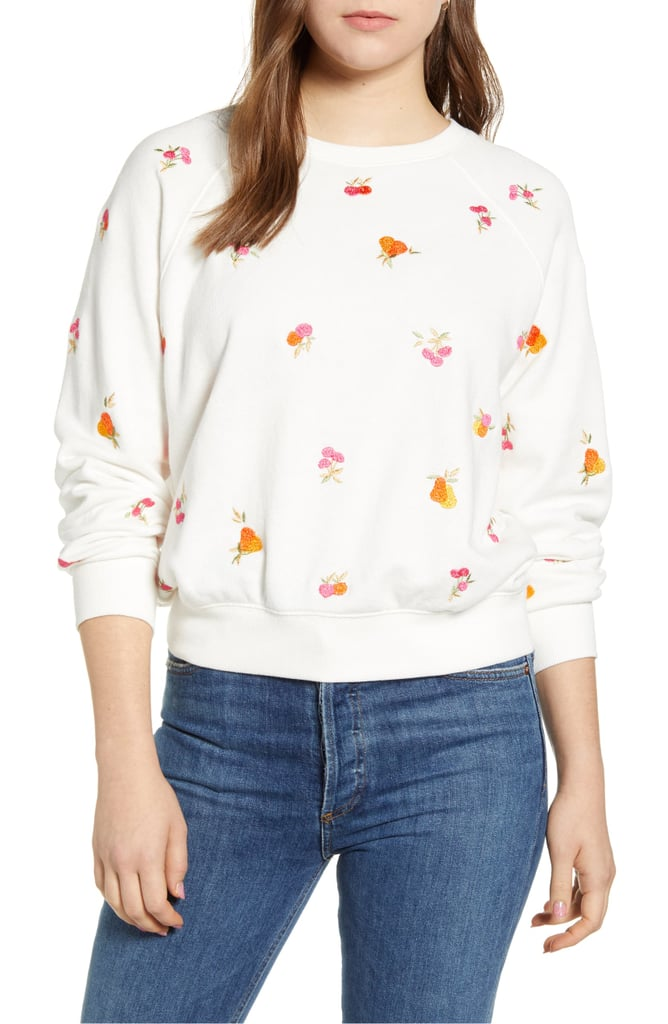 Lou & Grey Perry Terry Tropical Sweatshirt