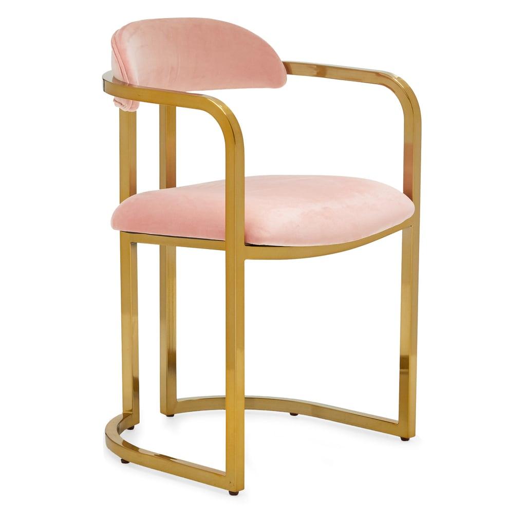 MoDRN Glam Marni Metal Base Chair