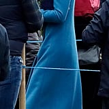 Kate Middleton's Blue Coat January 2019