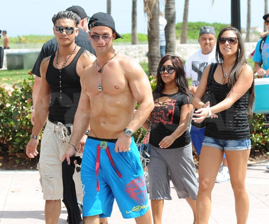 Pictures of The Jersey Shore Kids in Miami