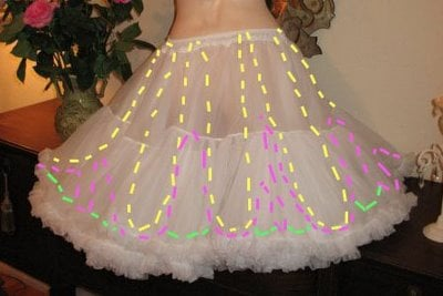 How To Wear A Crinoline Petticoat