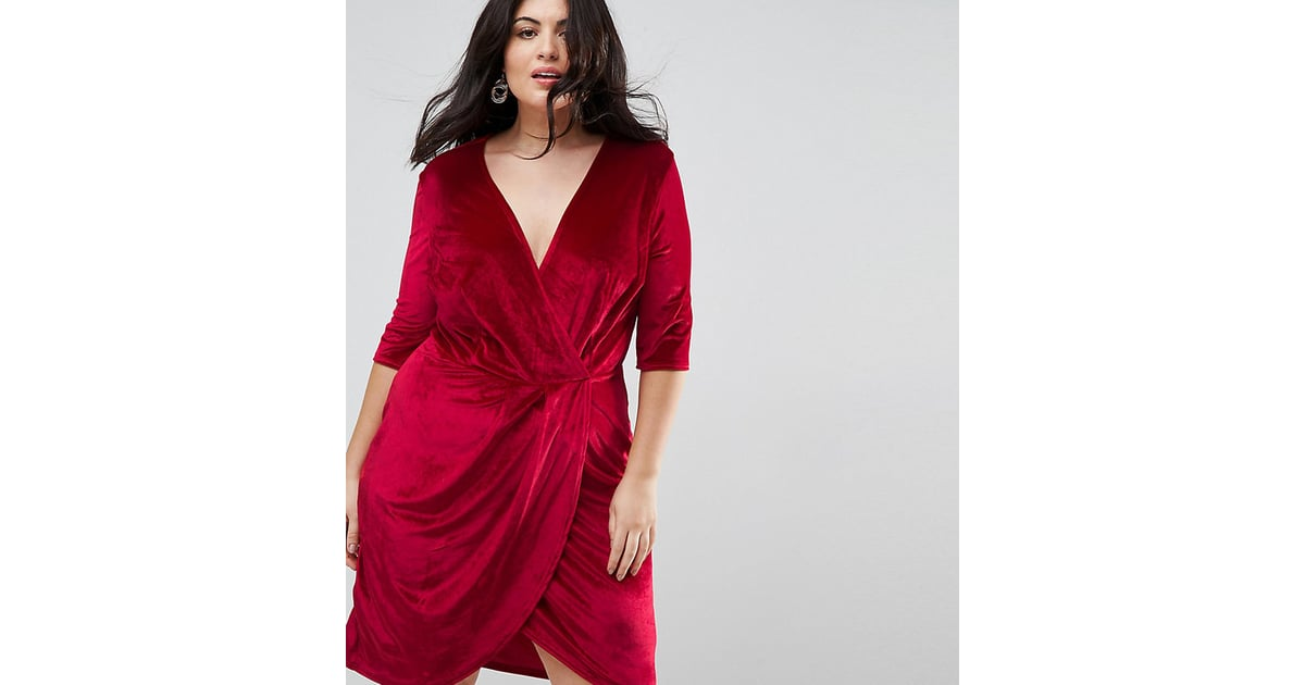 e9faabcc5b76 Lane Bryant Velvet Pleated Dress | Plus-Size Holiday Dresses ...