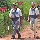 Princess Diana in Angola in 1997