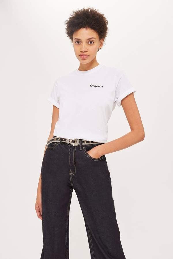 Love **Girlpower Slogan T-Shirt