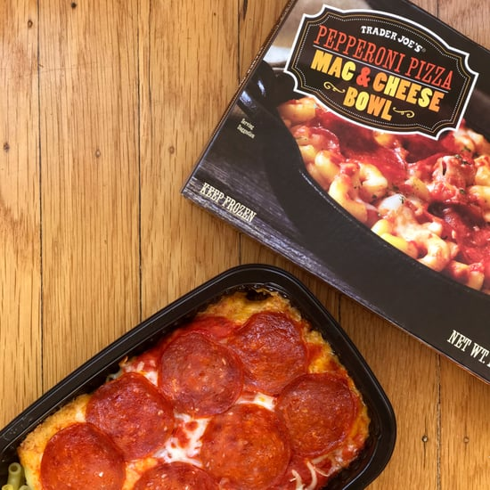 Trader Joe's Pepperoni Pizza Mac & Cheese Review