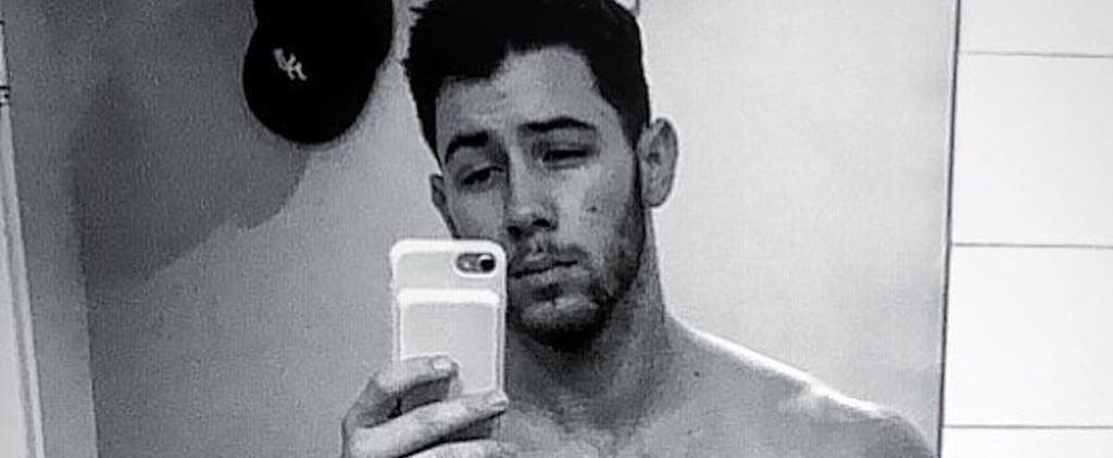 Sexy Nick Jonas Selfies