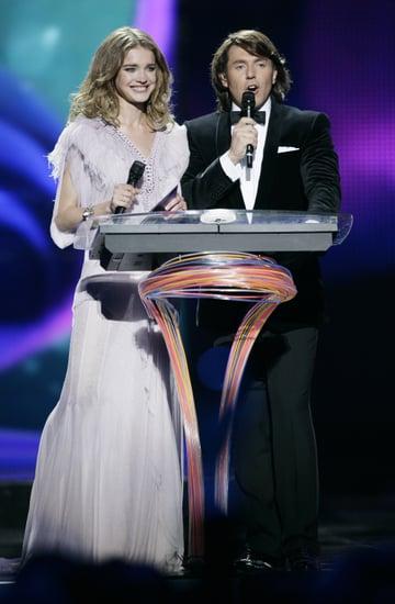 Video of Natalia Vodianova at Eurovision 2009