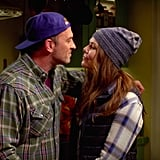 Lorelai and Luke look adorable together.