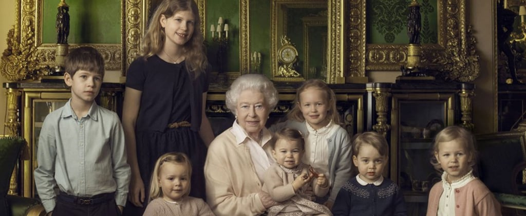 British Royal Family Portraits For Queen's 90th Birthday