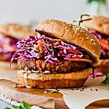 Spiced Lentil Burgers With Tahini Slaw