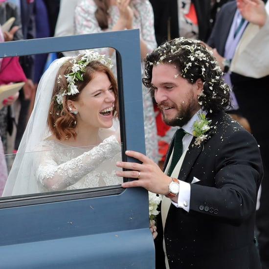 Kit Harington and Rose Leslie Married