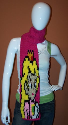Princess Peach Knitted Scarf: Love It or Leave It?