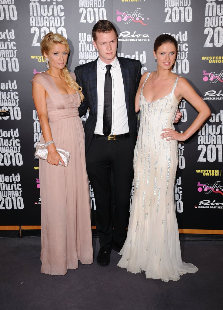 Paris, Nicky, and Barron Hilton