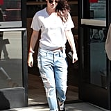 Kristen Stewart, What's Up With the Broken Sunglasses?