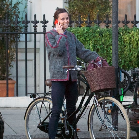 Pippa Middleton's Gray Jacket