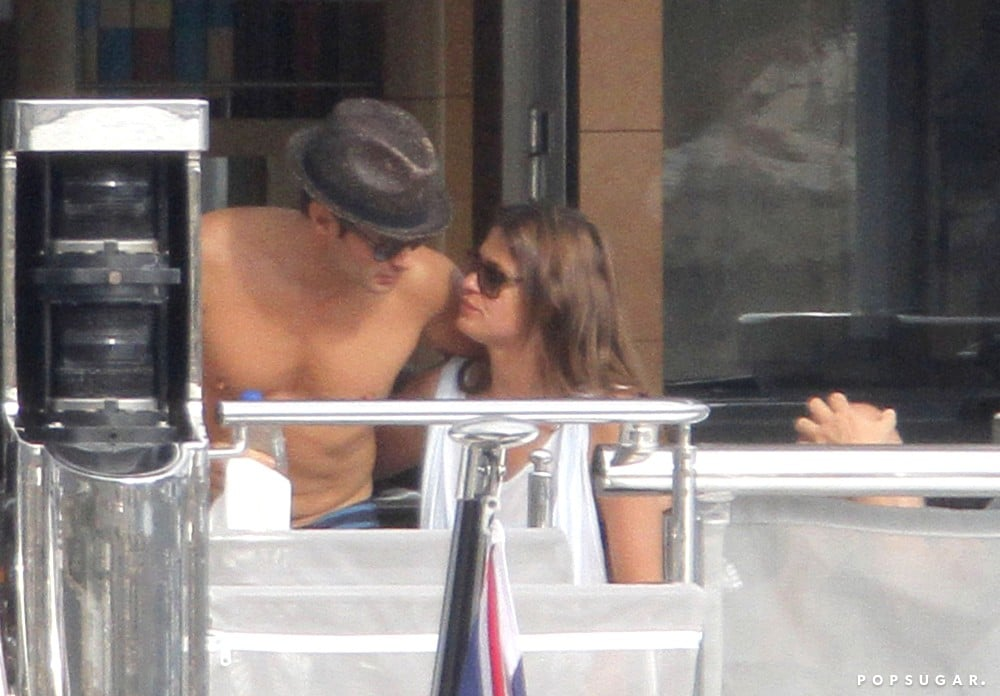 Ryan Seacrest got close to Dominique Piek during a vacation in the South of France back in July.