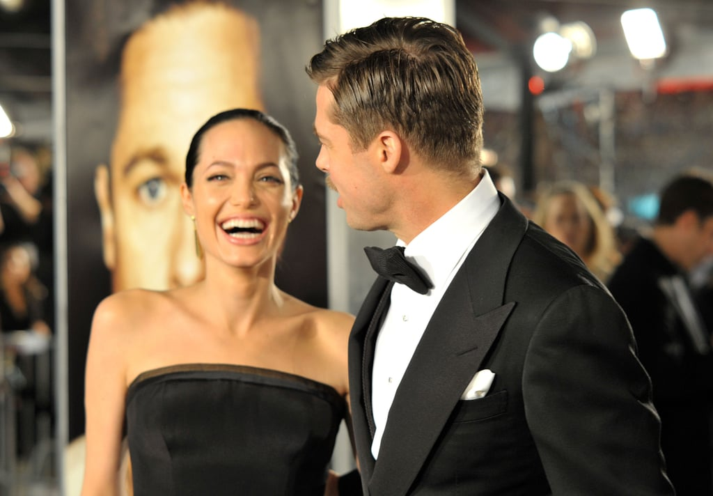 Angelina Jolie and Brad Pitt were full of laughs at the December 2008 LA premiere his film, The Curious Case Of Benjamin Button.