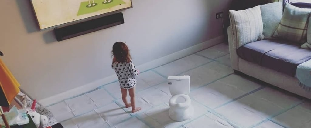 Mom Covers House in Pee Pads While Potty-Training Toddler