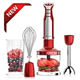 XProject 800W 4-in-1 Hand Blender With 6 Speed
