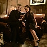 """""""Great to have my beautiful wife in attendance at my Haig Club London dinner."""""""