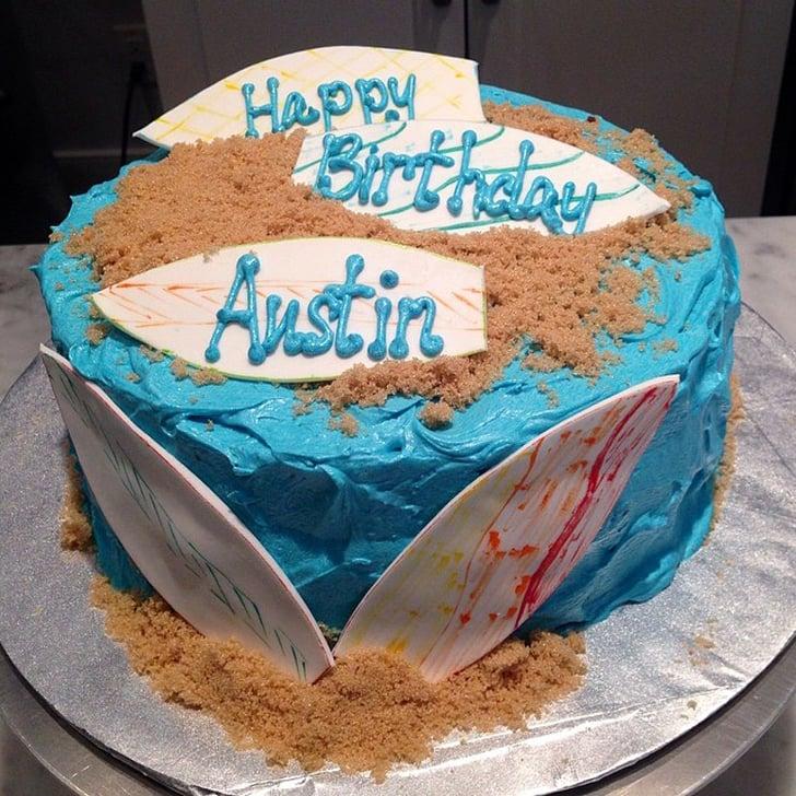 Summer Birthday Cakes POPSUGAR Moms