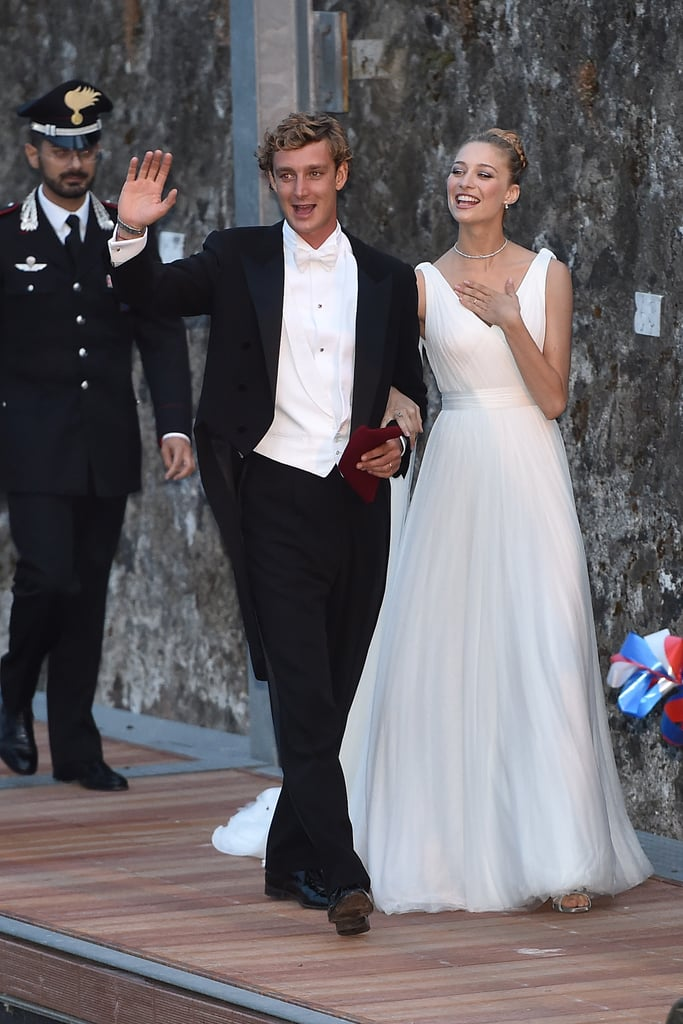Beatrice Got Married in an Armani Wedding Gown | Beatrice Borromeo ...
