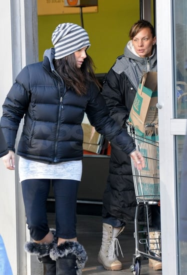 Pictures of Sandra Bullock Shopping in NYC