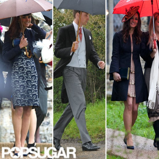 Kate Middleton and Prince William at Wedding on Anniversary