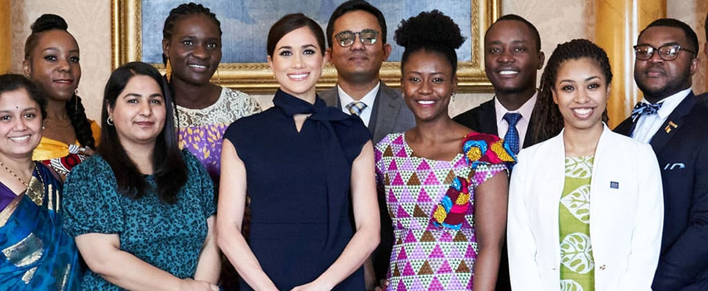 Meghan Markle Wore a Scanlan Theodoure Dress to a Royal Event