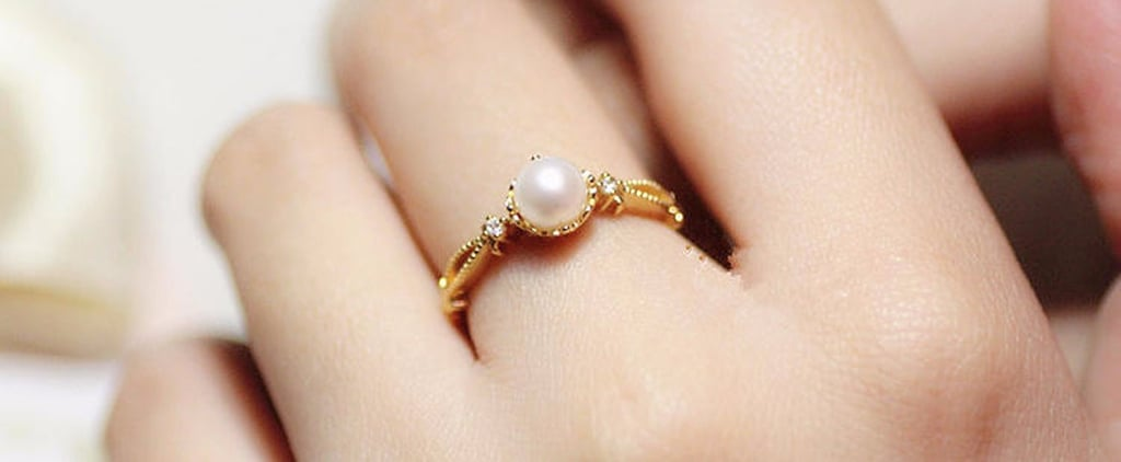 "You'll Say ""I Do"" the Minute You See These Pearl Engagement Rings"