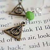 Slytherin Deathly Hallows Earrings ($18)
