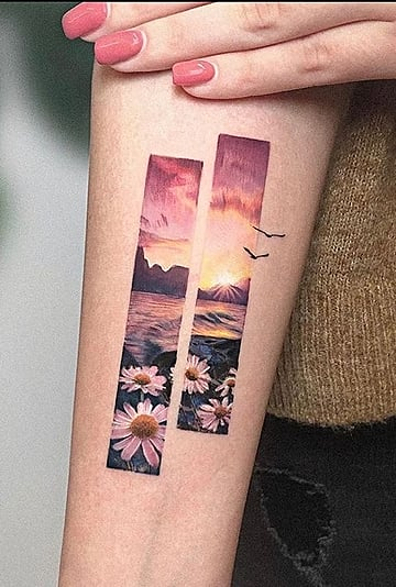 Hypercolor Realism Tattoo Trend Photos and Inspiration