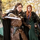 Ned and Catelyn Stark From Game of Thrones
