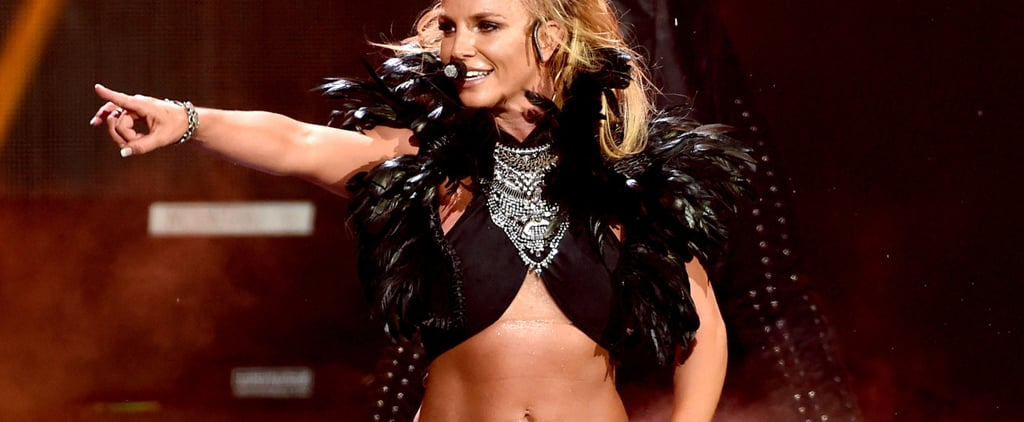 Get a Toned Tummy Just Like Britney Spears With These 4 Easy Ab Moves