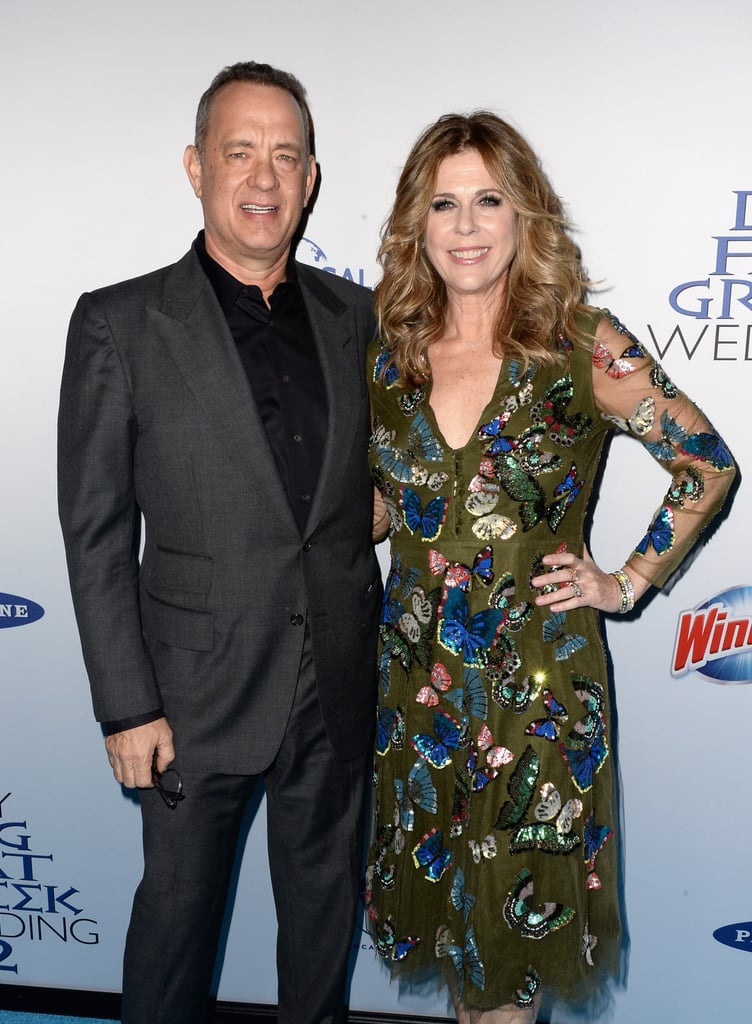 Tom Hanks and Rita Wilson made a stunning appearance at the New York premiere of My Big Fat Greek Wedding 2 on Tuesday evening. The couple, who's going on 28 years of marriage in April, stayed close while posing for photos and looked as happy as ever while celebrating the debut of the film, which they both coproduced. Rita and Tom are among the select few Hollywood couples who have withstood the test of time and much like Goldie Hawn and Kurt Russell, these two still have the look of love. Keep reading to see more of the famous duo, and then check out the trailer for My Big Fat Greek Wedding 2 before it hits theaters on March 25.
