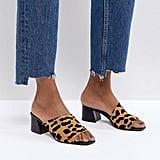 ASOS Tatiana Asymmetric Heeled Sandals