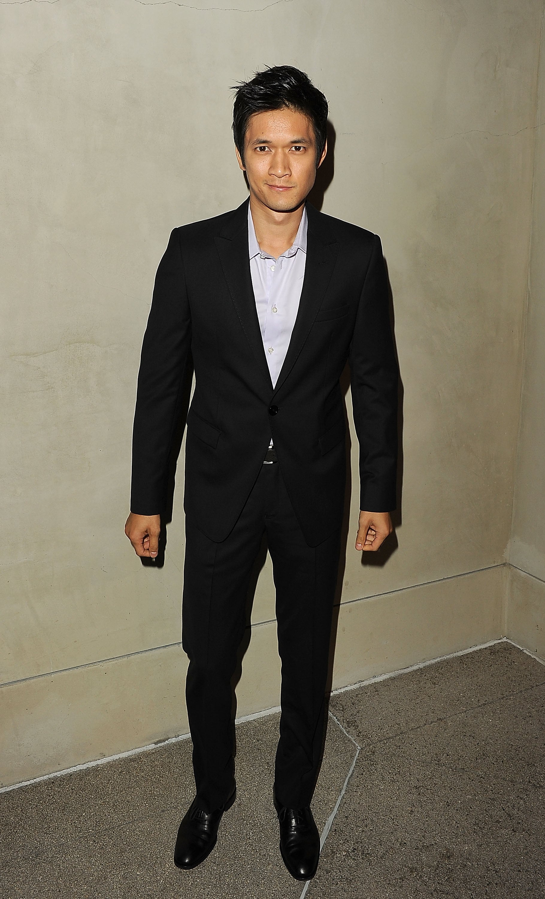 Harry Shum Jr. at a private event in LA.