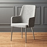 Get the Look: Aragon Stone Grey and Silver Chair