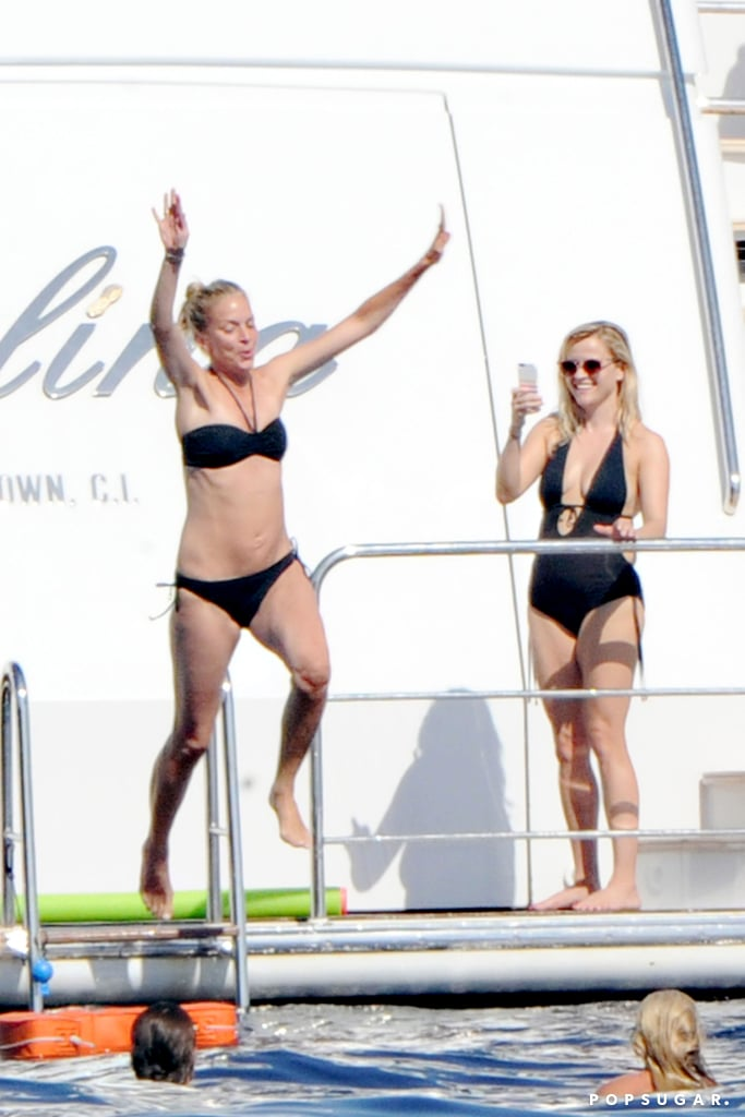 Reese Witherspoon Flaunts Her Bikini Body on Her Picture-Perfect Getaway