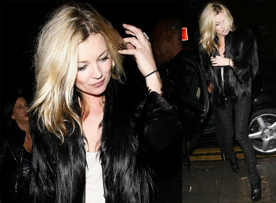 Photos of Kate Moss in London as She Launches New Perfume 2009-11-13 16:30:41